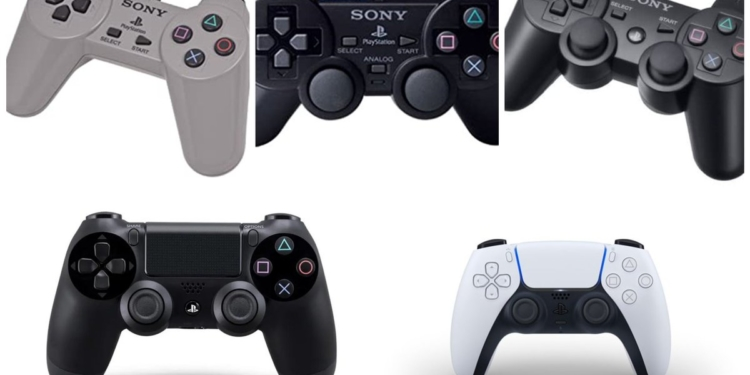 Από το Digital Controller του PS1 στο DualSense του PS5